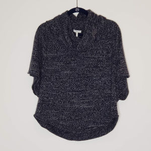 Joie gray marled cowl neck oversized sweater